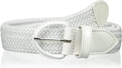Florsheim Men's 35 mm Braided Elastic Belt
