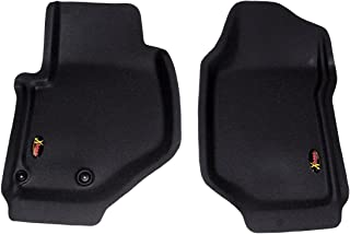 Lund 408001 Catch-All Xtreme Black Front Floor Mat - Set of 2