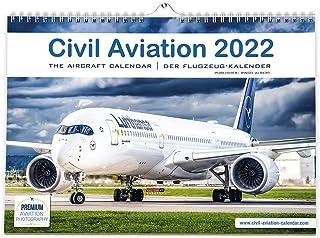 Civil Aviation 2022 – kalendarz samolotowy 2022 dla wszystkich fanów samolotów. Nowoczesne samoloty od Airbus, Boeing. 42 ...
