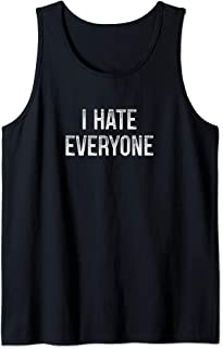 I Hate Everyone - Funny Vintage Style Tank Top