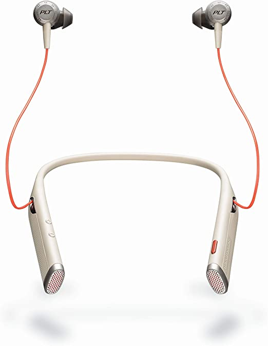 Plantronics 211718 Bluetooth Usb C Voyager 6200 Uc Headset Black Orange Elektronik