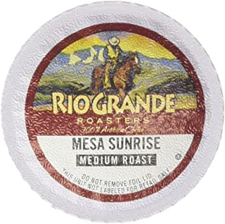 Rio Grande Roasters Coffee Single Serve Cups, Mesa Sunrise, 12 Count (Pack of 6)
