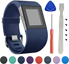 BeneStellar Fitbit Surge Band, Newest TPU Bracelet Strap Small Large Replacement Band Fitbit Surge Watch Fitness Tracker WatchBand Wristband Accessories
