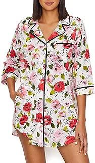 Kate Spade New York Rose Woven Sleep Shirt
