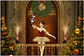 KPZ Ballet Nutcracker Christmas Fabric 500 Pieces Jigsaw Puzzle for Adults Teens Brain Teaser Home Decor Gift Boredom Buster Activity