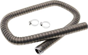 ZTUOAUMA 24mm Stainless Steel Exhaust Pipe(1m) 36061296 90394 with Clamps Compatible with Webasto Eberspacher