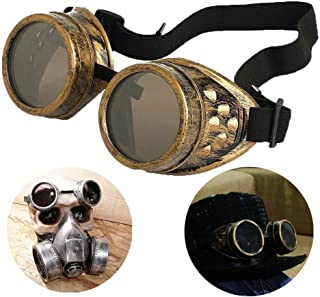 steampunk victorian goggles welding glasses