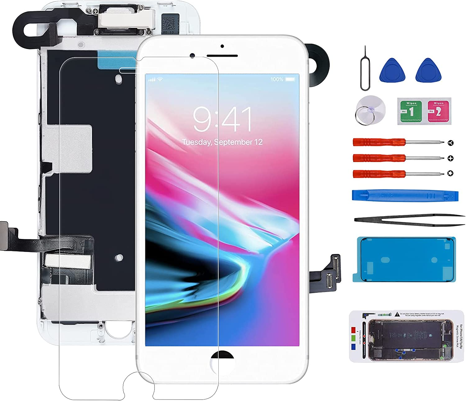 for iPhone 8 Screen Ranking TOP16 Replacement Full LCD and Limited price Touch S Assembly 3D