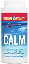 Natural Vitality Calm, The Anti-Stress Dietary Supplement Powder, Cherry - 16 Ounce