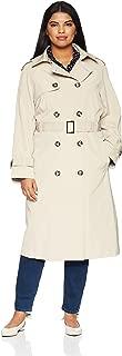 Women's Midi-Length Trench Coat
