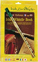 Waltons Irish D Tin Whistle and Book Pack - Fun & Colorful Tin - Irish & International Instrument - Perfect for Beginners, Intermediates, and Experts Perfect for St Patrick's Day