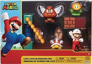 "Nintendo Super Mario Lava Castle 2.5"" Figure Multipack Diorama Set, Multicoloured"