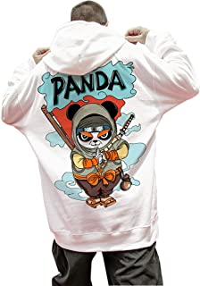 XYXIONGMAO Ninja Panda Hoodies Oversized Couple Street Sweater Japanese Hoodie Male Hip Hop