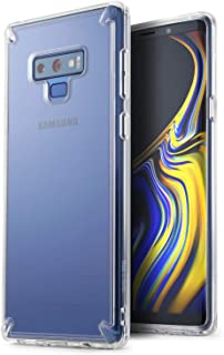 【Ringke】Galaxy Note9 ケース 対応 コスパ最高 透明 クリア 背面PC TPUカバー ストラップホール 落下衝撃吸収 スマホケース スリム ライト Fusion (Clear/クリア) Galaxy Note 9 ケース S...