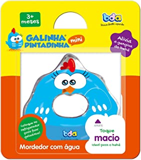 Galinha Pintadinha Mini Mordedor de Agua, Toyster Brinquedos, Multicor, Tamanho Único