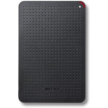 BUFFALO 耐衝撃 日本製 USB3.1(Gen1) ポータブルSSD 120GB [HDDより速い/強い] SSD-PL120U3-BK/N