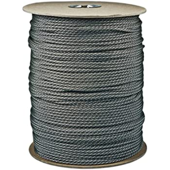 PARACORD PLANET Brand Nylon 550lb Type III Commercial Grade 7 Strand Paracord Made in USA 1000 Ft Spools