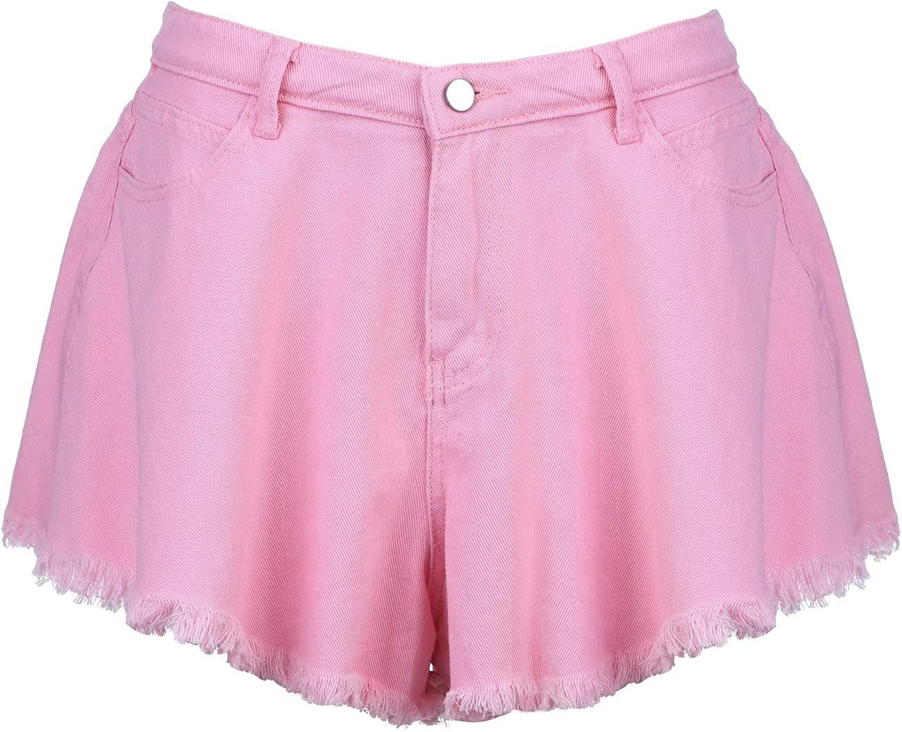 KEJINKCSEE Denim Shorts for Manufacturer direct delivery Women Waist Summer Irre Animer and price revision Elastic High