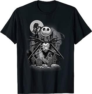 Nightmare Before Christmas Jack Night Scene T-Shirt