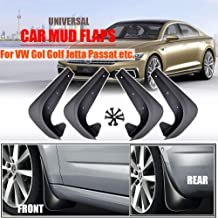 XUKEY Set Universal Mudflaps Mud Flaps Splash Guards Mudguards for Volkswagen Up GOL Fox Polo Vento Golf Jetta Passat Touran Atlas VW