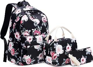 Girls Backpacks Set 3 Pcs School Bookbags