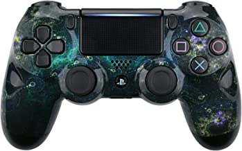 eXtremeRate Dark Chaos Nebula Galaxy Patterned Front Housing Shell Case, Faceplate Cover Replacement Kit for Playstation 4 PS4 Slim PS4 Pro CUH-ZCT2 JDM-040 JDM-050 JDM-055 Controller