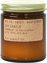 P.F. Candle Co.. - No. 10: Sweet Grapefruit Soy Candle (Standard (7.2 oz))