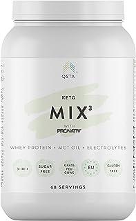 comprar comparacion Keto Plus Actives MIX 3-en-1 (68 PORCIONES) - Batidos para adelgazar saciante, Quemagrasas potente para adelgazar y rapido...
