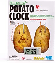 4M Potato Clock DIY Green Science Chemistry Engineering Lab - STEM Toys Educational Gift for Kids & Teens, Girls & Boys
