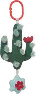 Manhattan Toy Cactus Garden Rock + Rattle Bpa-Free Baby Toy with Chime
