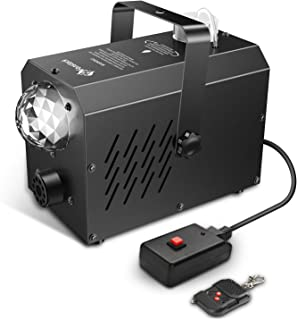 Fog Machine with LED Stage Lights – Fansteck Professional Wireless Remote Portable..