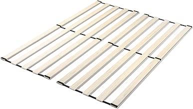 Zinus Adrianne Solid Wood Vertical Bed Support Slats / Bunkie Board, Queen