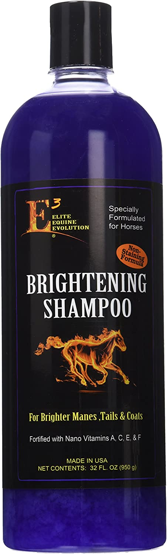 E3 Elite Brightening Shampoo for Pets, 32 oz.