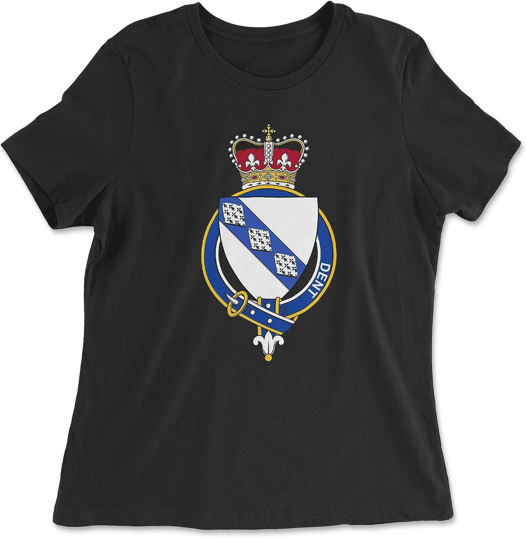 HARD EDGE DESIGN Women's English Garter Family Dent T-Shirt