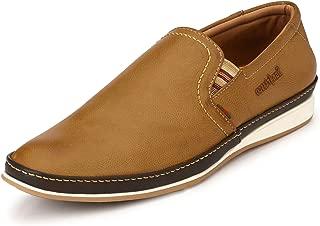 San Frissco Men's Tan Sneakers-9 UK/India (43 EU) (BB-001-Tan-9)
