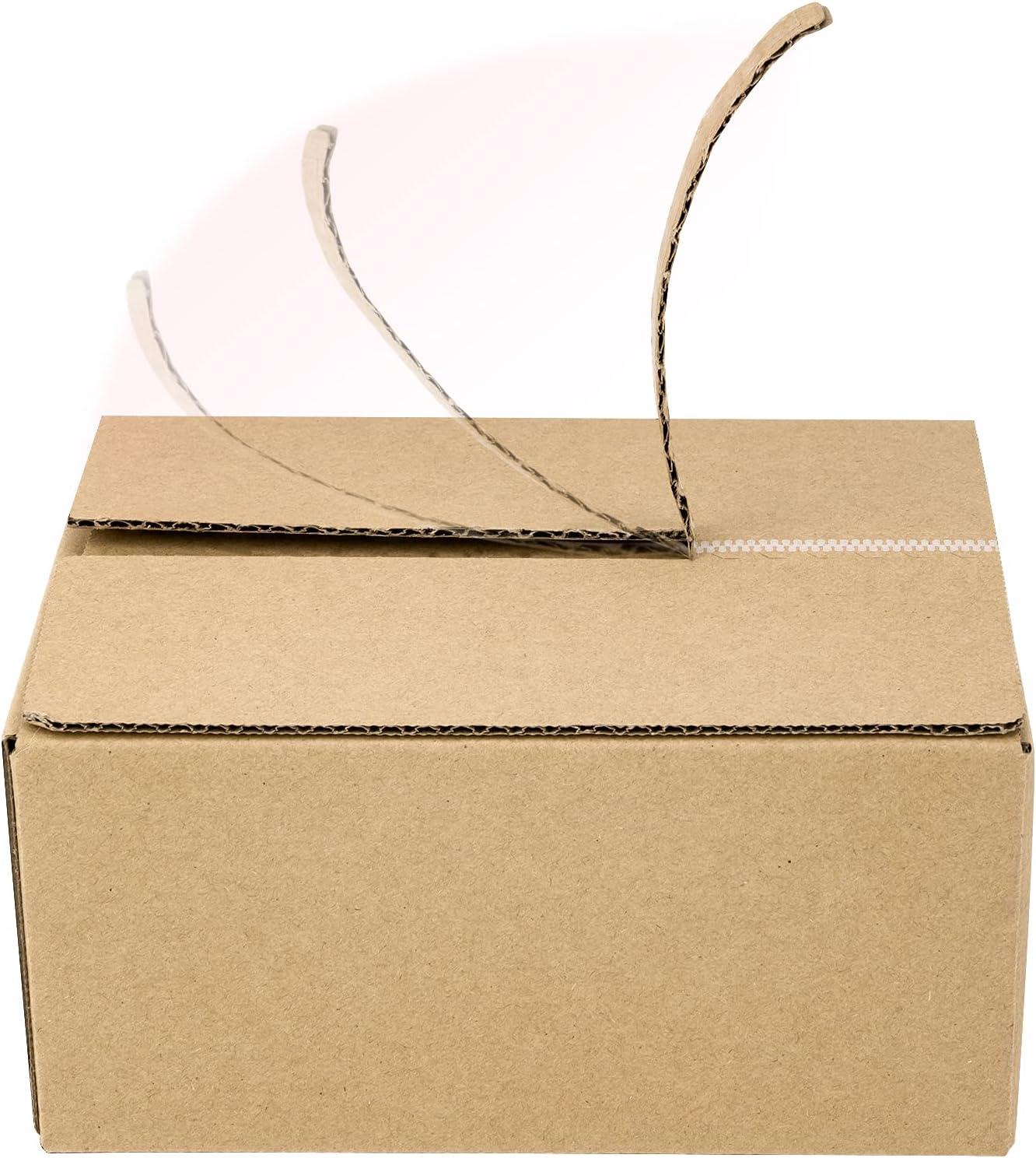 BIOBROWN Corrugated Mailer Box Zipper Stick Self for Philadelphia Mall Ranking TOP15 Design