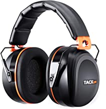 Noise Reduction Safety Ear Muffs, Tacklife [Reinforced] NRR 28dB Shooters Hearing Protection Ear Muffs, Adjustable Headban...