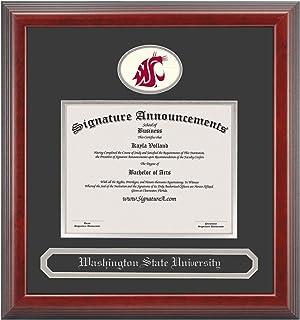 Sculpted Foil Seal /& Name Graduation Diploma Frame 20 x 20 Cherry Signature Announcements Meharry-Medical-College Undergraduate