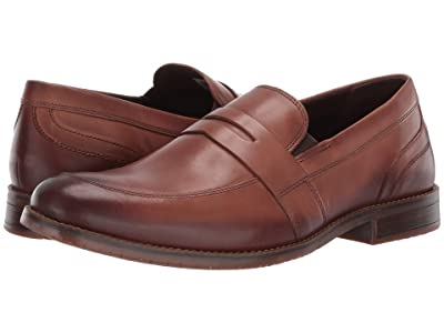 Rockport Style Purpose 3 Penny (Cognac) Men