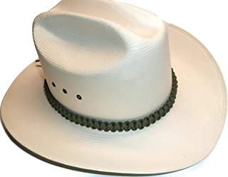 RedVex Paracord Hat Band - Cowboy Hat Band - Choose Your Color and Style