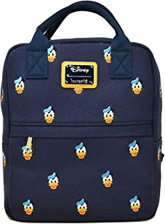 Loungefly x Donald Duck Embroidered Canvas Mini Backpack