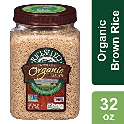RiceSelect Organic Texmati Brown Rice, 32 Oz