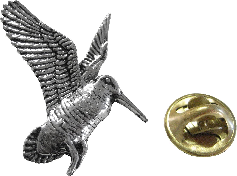 Kiola Designs Woodcock Bird Lapel Pin