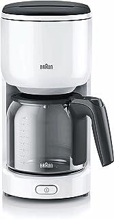 Braun Coffee Maker KF 3100 White
