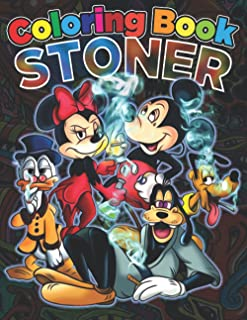 Stoner Coloring Book: Stoner Psychedelic Coloring Book For Adults With Stress Relief And Relaxation
