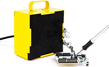110-220V AC Solder Smoke Absorber Remover Fume Extractor Air Fan AU//EU//UK Plug