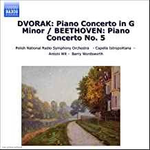 Dvorak: Piano Concerto In G Minor / Beethoven: Piano Concerto No. 5,