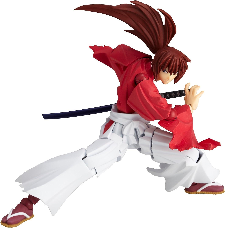 promociones Rurouni Rurouni Rurouni Kenshin Revoltech súper Poseable Acción Figura  109 Himura Kenshin [Juguete] (japan import)  más descuento