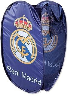 ALMACENESADAN 2289; cesto guardatodo Real Madrid Multicolor Azul.