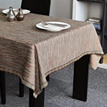 Cloth Tablecloths,Desktop decoration Desktop homeowner tablecloth European style Waterproof Simple Oil-proof Multi-purpose [creative] Cover towel Lace Party Kitchen-G 100x160cm(39x63inch)